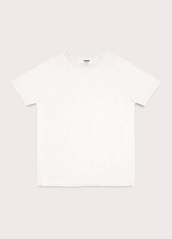Television Cotton Raglan T-Shirt Ecru