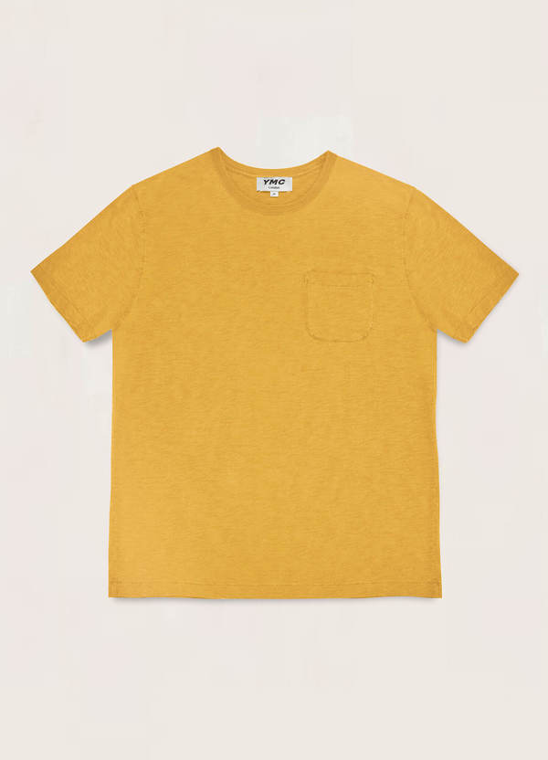 Wild Ones Cotton Slub Jersey T-Shirt Yellow