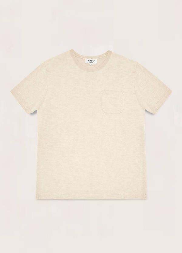 Wild Ones Cotton Slub Jersey T-Shirt Ecru