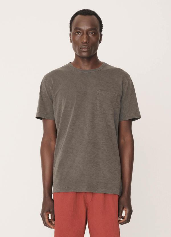 Wild Ones Cotton Slub Jersey T-Shirt Dark Olive