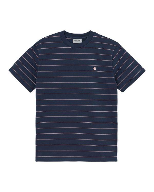 CARHARTT WIP The Denton Short Sleeve T-Shirt - Space/Malaga