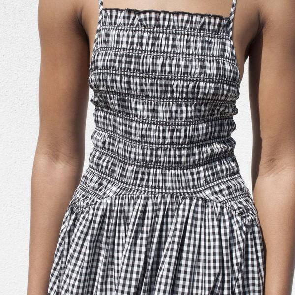 Sandy Liang Goose Dress - black/white