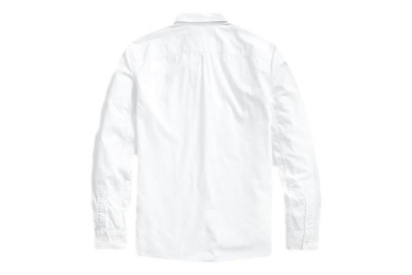 Twill Workshirt White