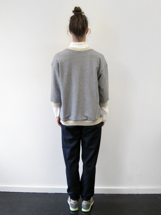 Nancy Stella Soto Cutout Fleece Sweatshirt