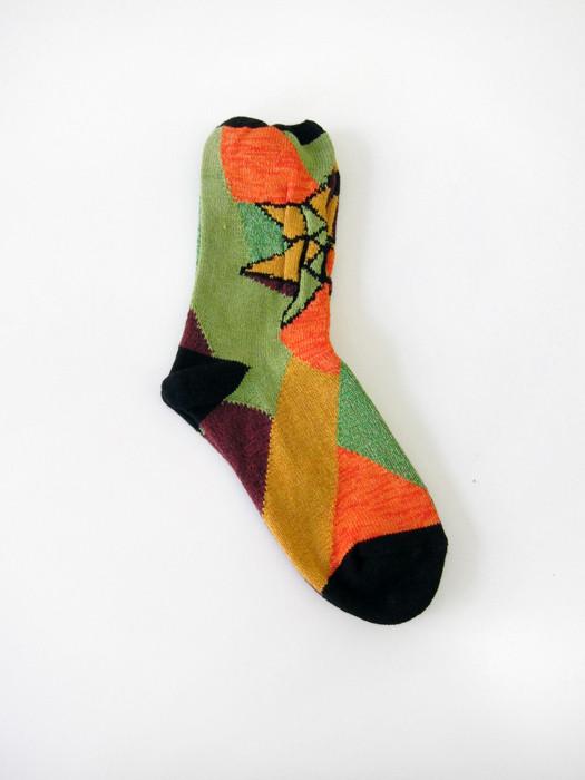 Kapital Kaleidescope Socks