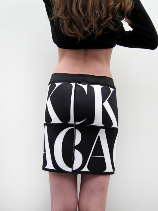 Ann-Sofie Back Logo Elastic Skirt