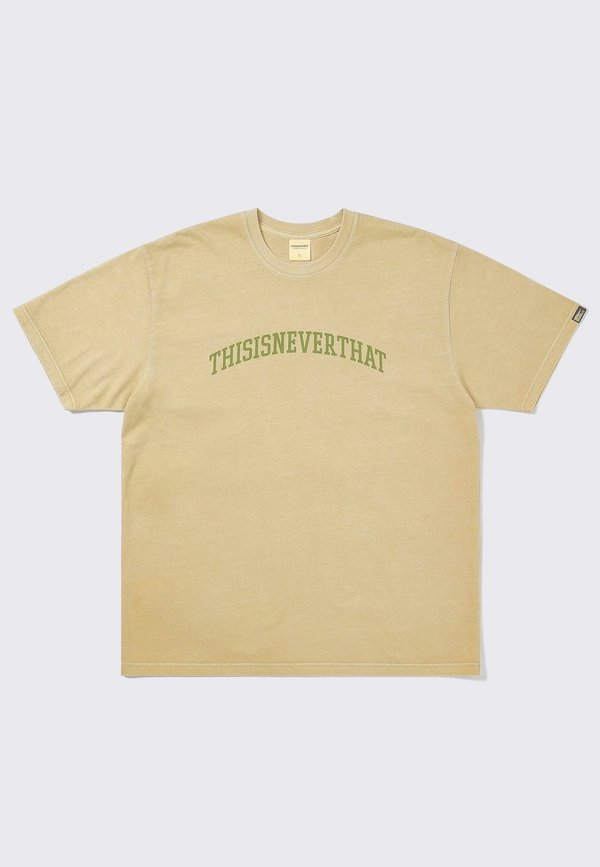 ThisIsNeverThat Arc Logo T-Shirt - tan