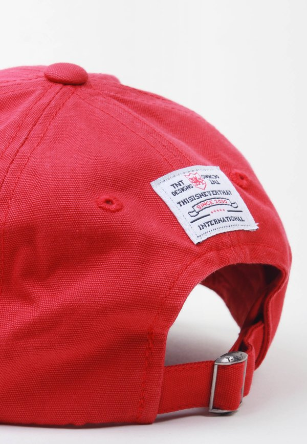 ThisIsNeverThat Sport Club 7 Panel Cap - red