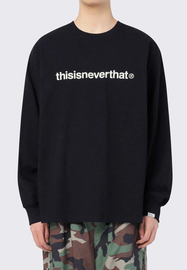 ThisIsNeverThat T-Logo Long Sleeve tee - black
