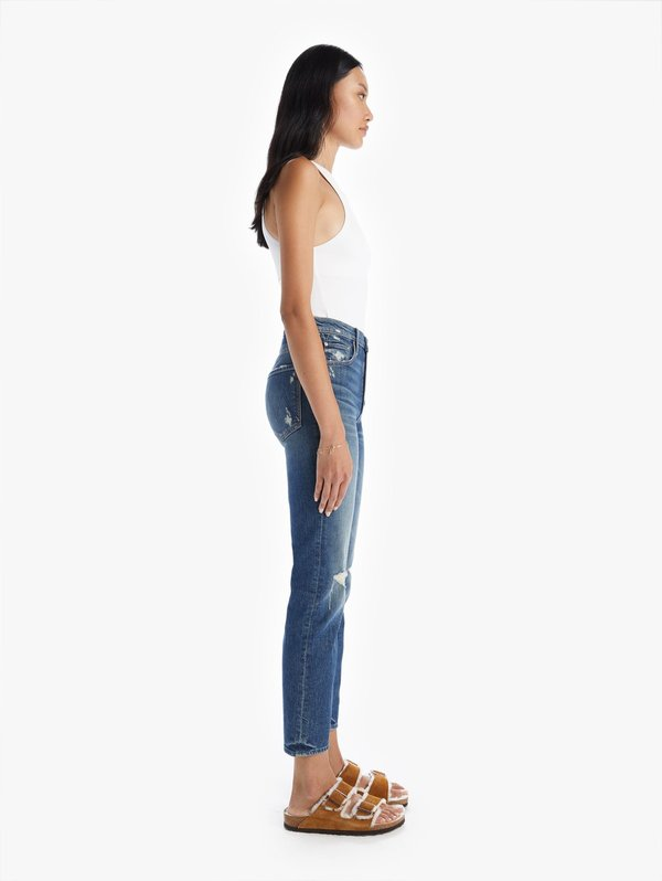 Mother Denim The Pixie Tomcat Ankle Jeans - Born To Bite