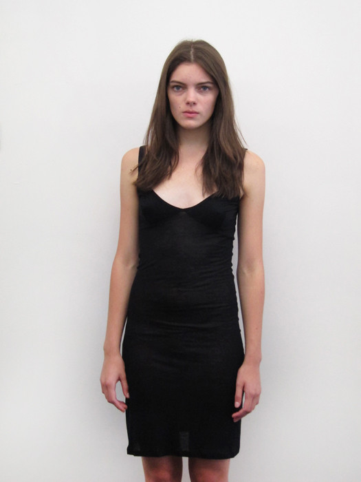 Baserange US Slip Dress, Black