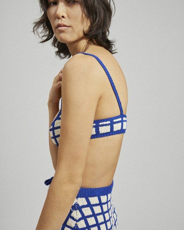 Rachel Comey Albon Top - Blue Multi