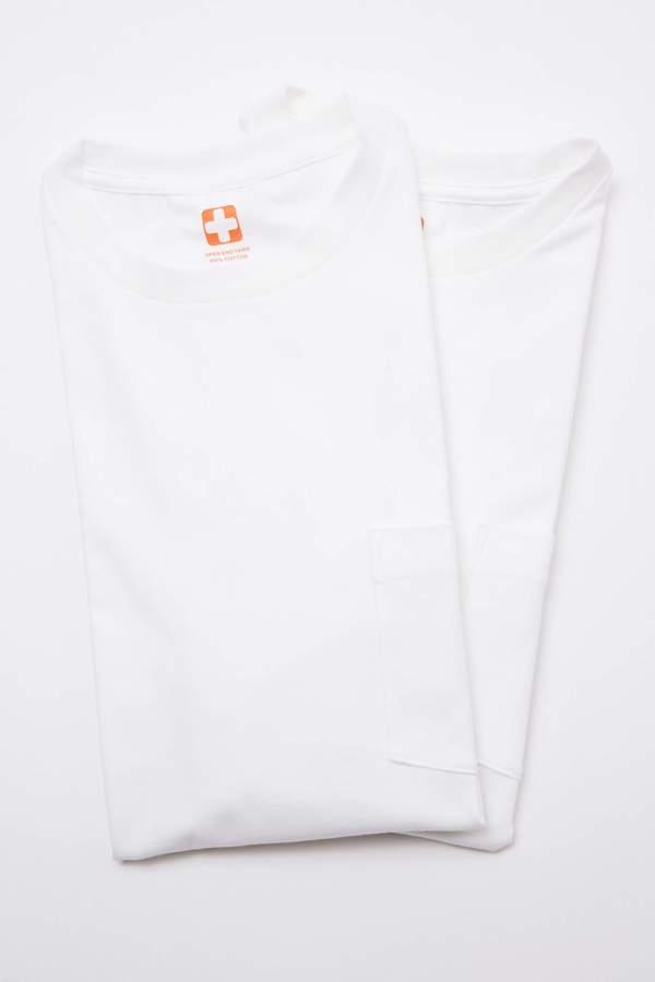 Beams Plus 2Pack Pocket Tee - White