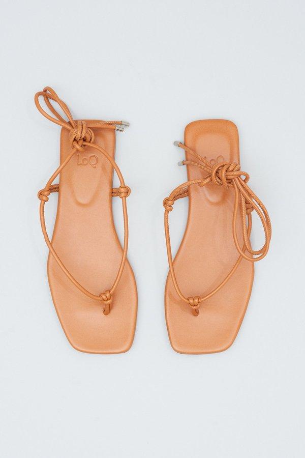 LOQ Teo Sandals - Cuero