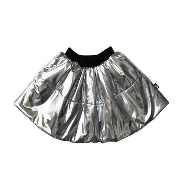Kids LITTLE MAN HAPPY Sky Circle Skirt - Silver