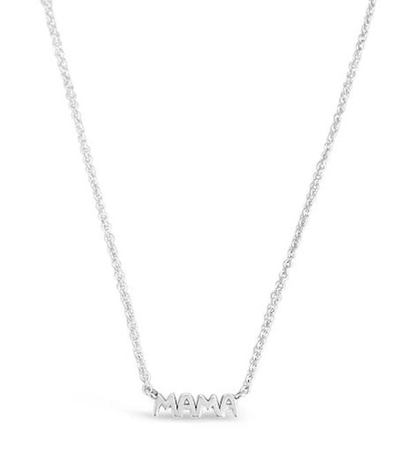 Sierra Winter Jewelry Mama Necklace - Sterling Silver