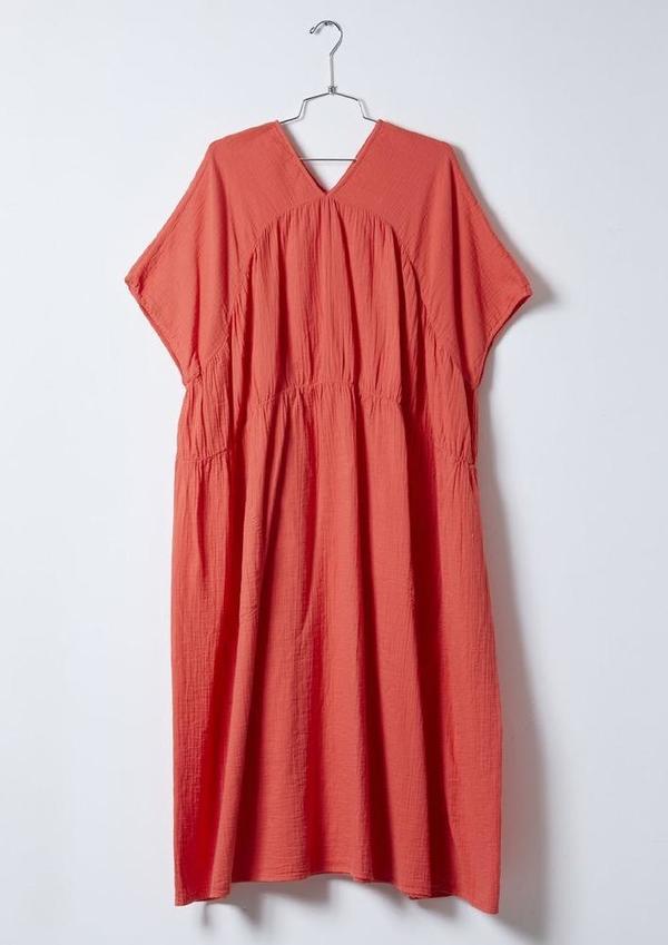 Atelier Delphine Lihue Dress - Scarlet