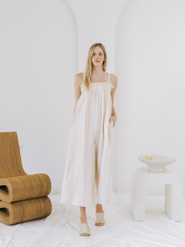 LAUDE the Label Laurel Jumpsuit - Tulum Stripe