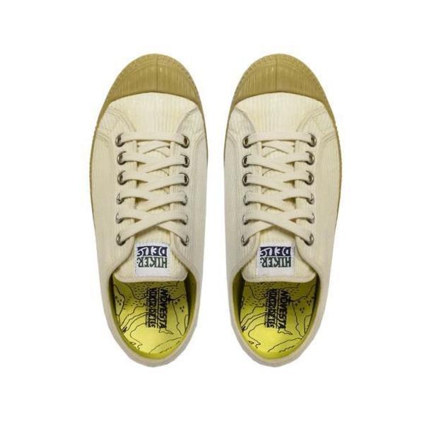 NOVESTA x Hikerdelic Star Master Corduroy Shoes - Off White