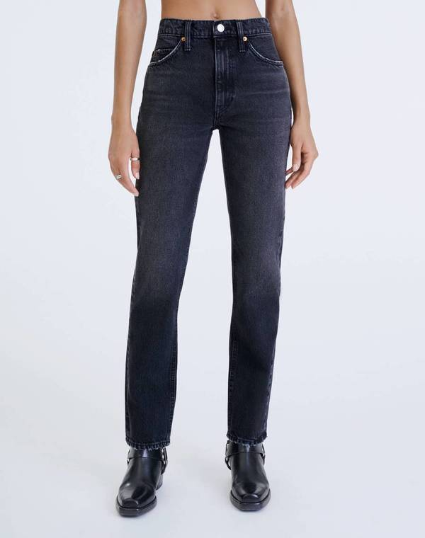 RE/DONE 70s Straight Jean - Black