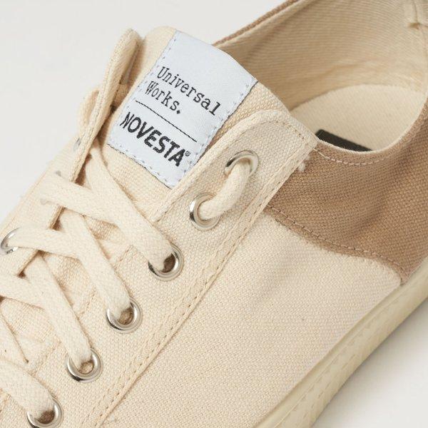 NOVESTA x Universal Works Star Master Sneakers - Beige/Ecru