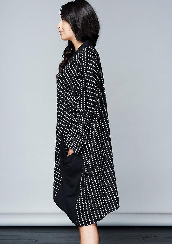 Komana Oversized Dot Jacket