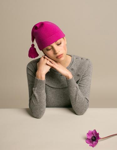 Makeda Matheson Tassel Hat