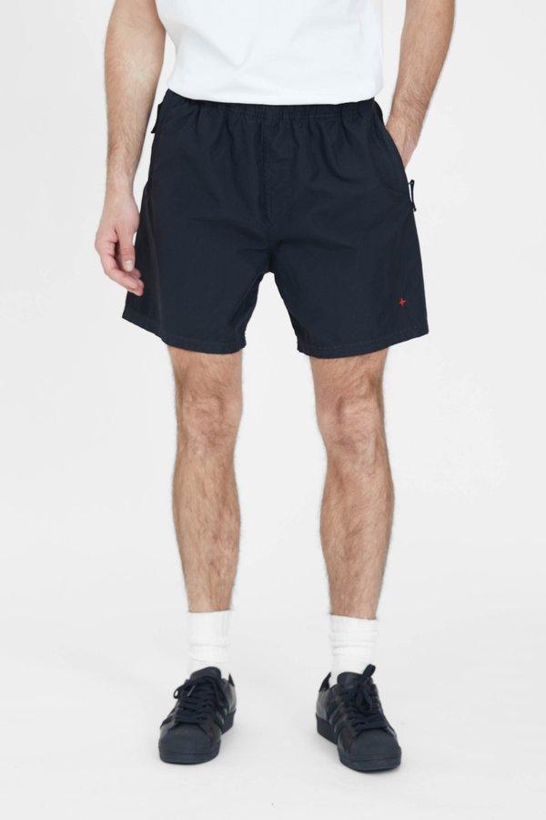 Stone Island Marina Brushed Nylon Bermuda Shorts - Black