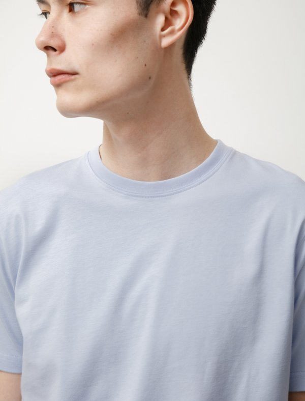 Norse Projects NIELS STANDARD SS T-SHIRT - CLOUDED BLUE