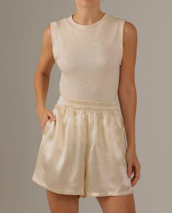 Parentezi Silk Shorts - Butter