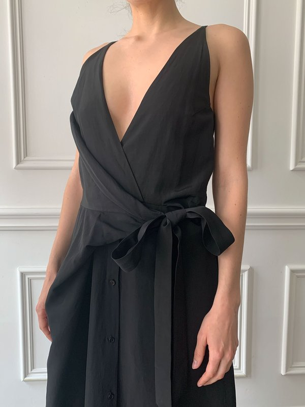 CHRISTIAN WIJNANTS Darjan Sleeveless Dress - Black