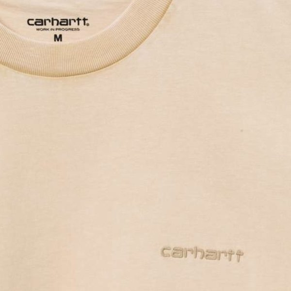 CARHARTT S/S Mosby Script T-Shirt - Dusty Heather Brown