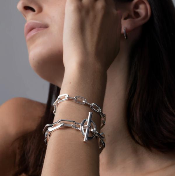 Jenny Bird Toni Small Bracelet - Silver