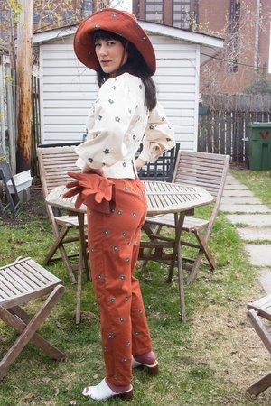 Samantha Pleet Fauna Pants