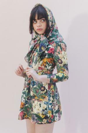 Samantha Pleet Leap Dress - Garden
