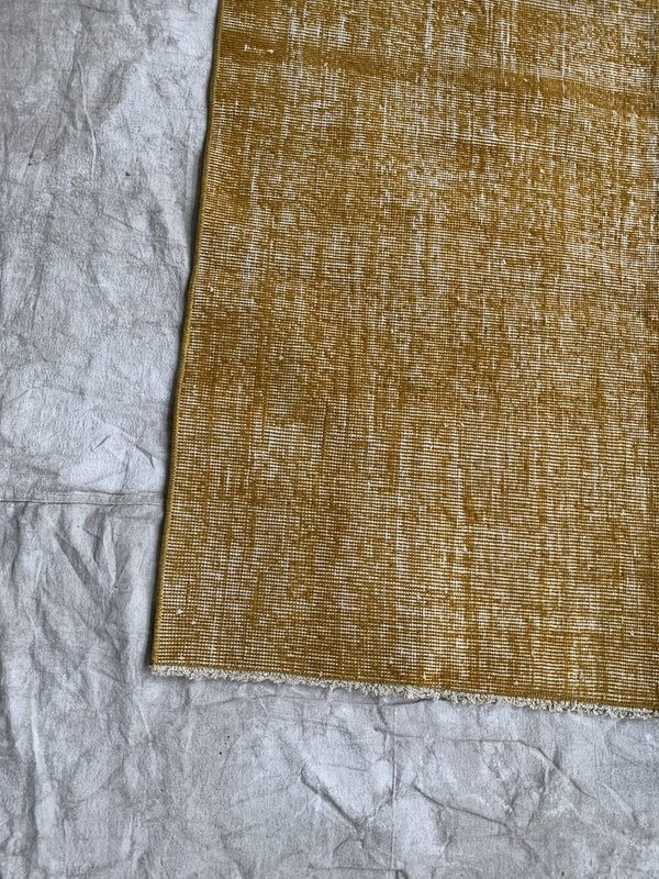 Cuttalossa & Co. Over Dyed Rug - Gold Yellow
