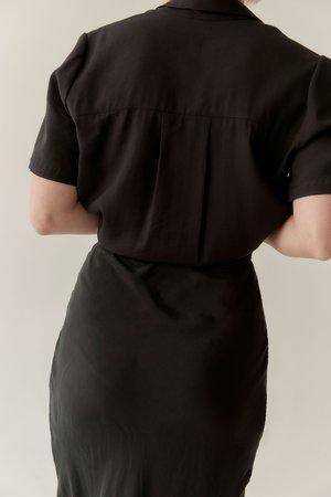 Mina Essential Skirt - Black