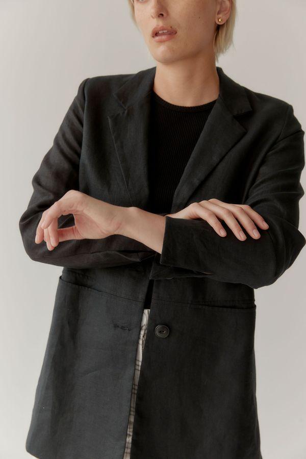 Mina Local Blazer - Black