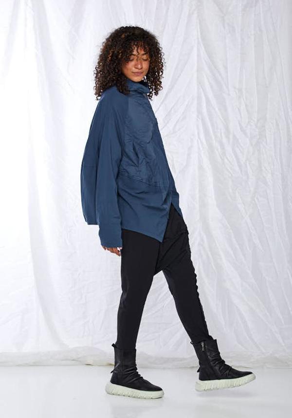 Rundholz Black Label Contrast Panel Cocoon Jacket