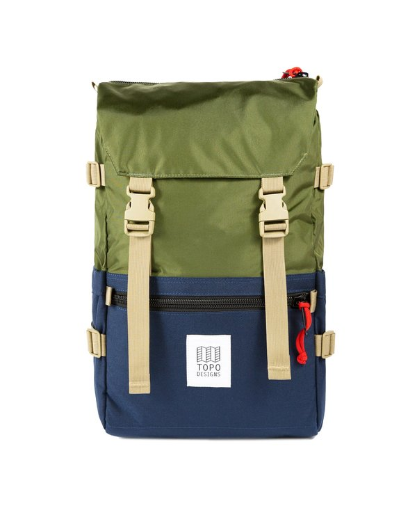 Topo Designs Rover Pack Classic Backpack - Olive/Navy