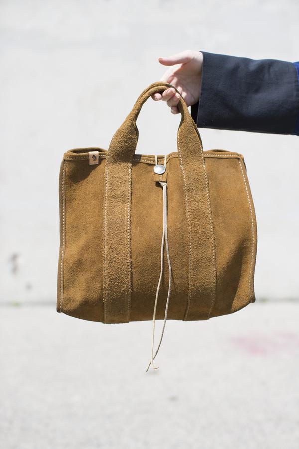 1979e7d663d Visvim Teton Tote Bag in Brown Suede