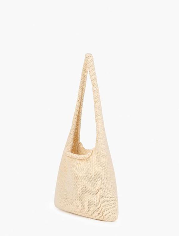 Paloma Wool Knit Pidgey Handbag - Ecru