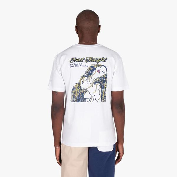 Reception Clothing Food For Thought T-shirt - White