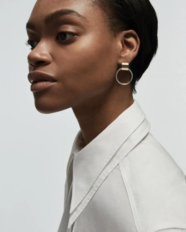 Jenny Bird Faye Knockers earrings - 14K gold-dipped/brass