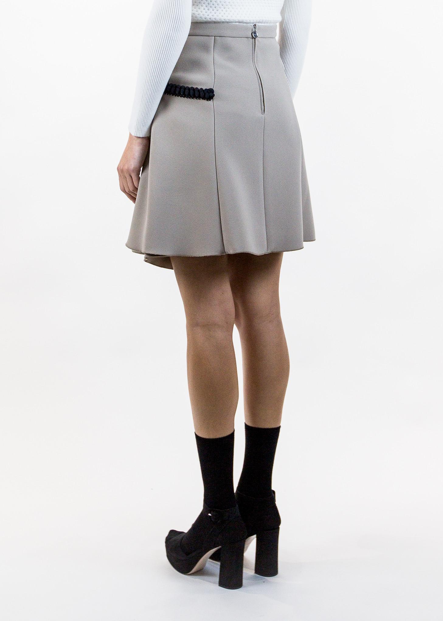 Carven Asymmetrical Short Skirt