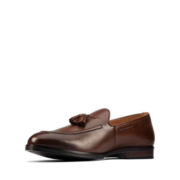 Clarks CITISTRIDESLIP shoes - brown