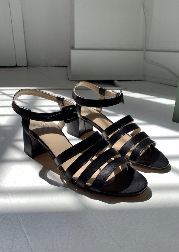 Maryam Nassir Zadeh Palma Low Sandal - Black