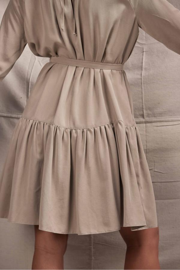 Lois Hazel Cena Dress - Taupe