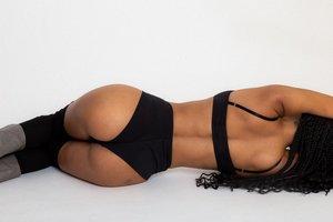 Rachel Mills Uno Bra - Black (IS)