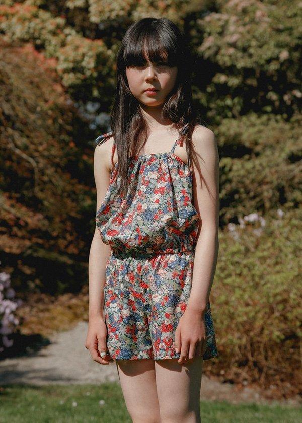 Kids Petits Vilains Camille Flutter Short - Thorpe Red